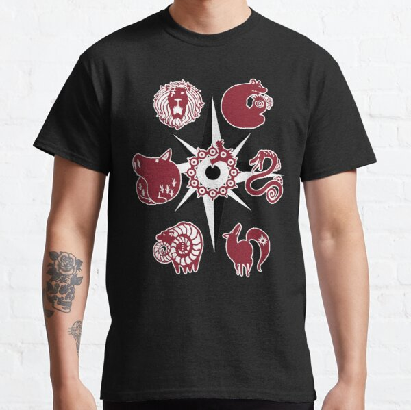 Seven Deadly Tattoos Camiseta clásica