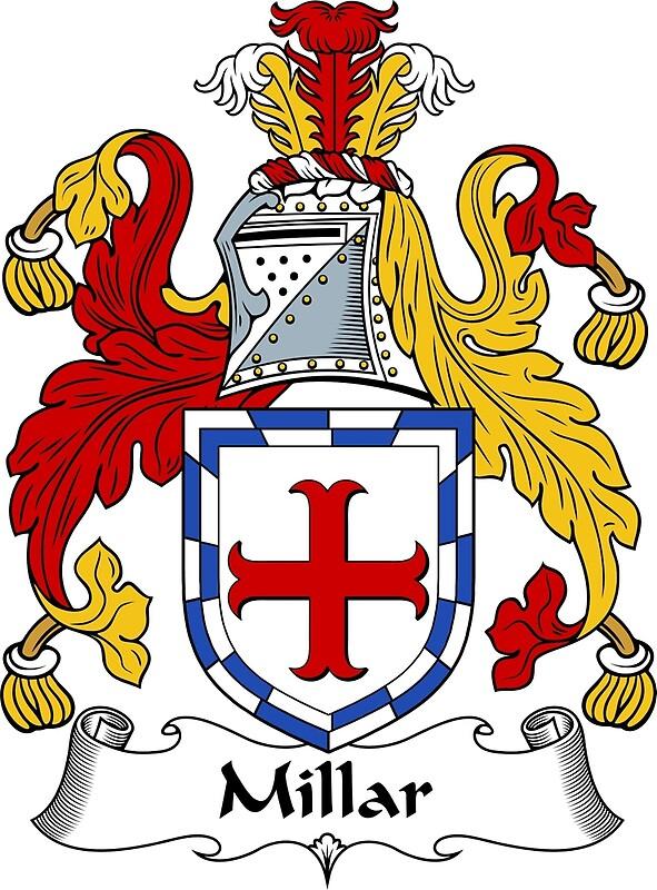 Millar Coat Of Arms Millar Family Crest By Scotlandforever