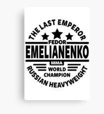 Fedor Emelianenko Canvas Print