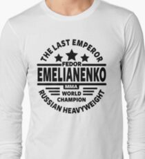 Fedor Emelianenko Long Sleeve T-Shirt
