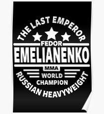 Fedor Emelianenko Poster