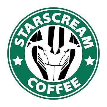 Starscream Coffee by cel3stial