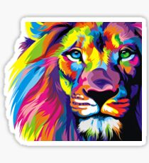 Lion Pride Sticker
