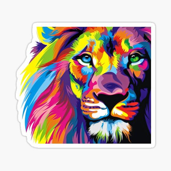 Fierté de lion Sticker