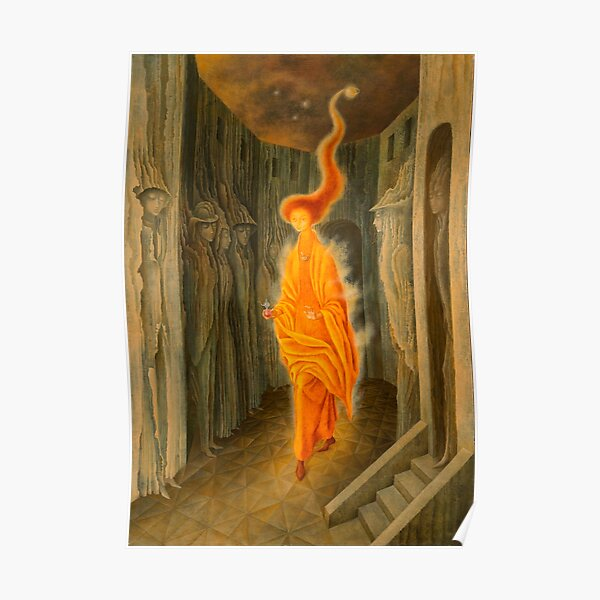 The Call, by Remedios Varo Poster