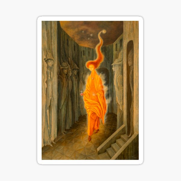 The Call, by Remedios Varo Sticker