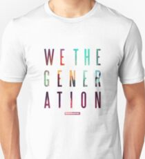 We The Generation Album by Rudimental Unisex T-Shirt
