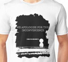 Gods final message.. Unisex T-Shirt