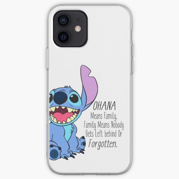 lilo and stitch  iPhone Soft Case