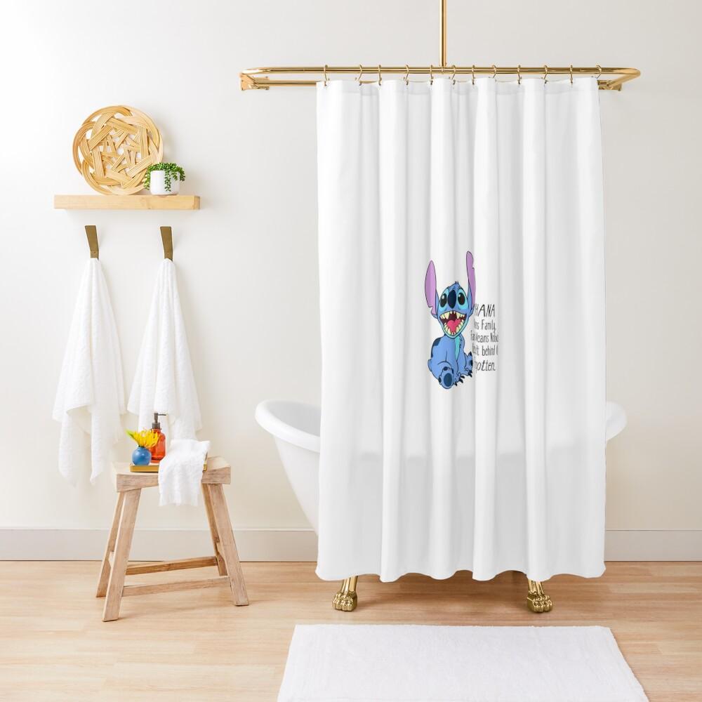 Lilo und Stitch Duschvorhang