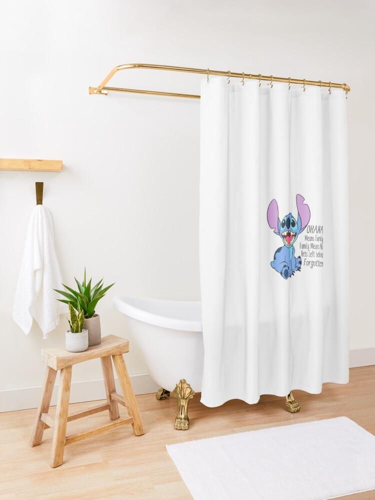 Alternative Ansicht von Lilo und Stitch Duschvorhang