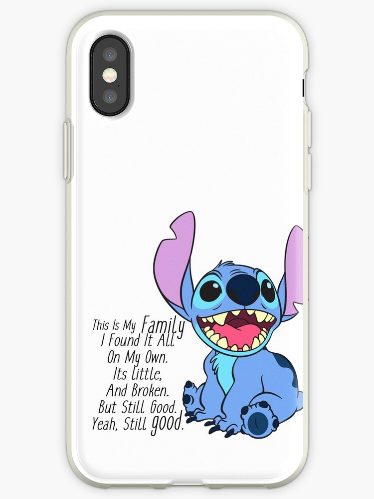 superior quality 25eef 0d643 'lilo and stitch' iPhone Case by Ben Newton