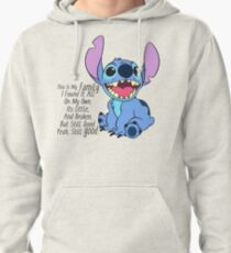 lilo and stitch Pullover Hoodie