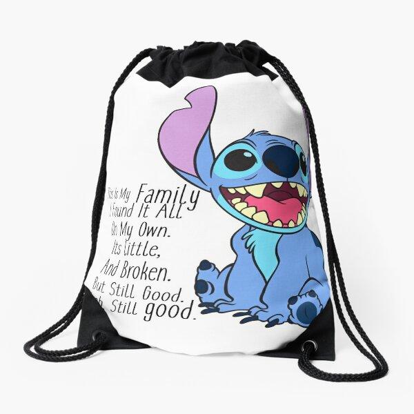 lilo and stitch Drawstring Bag