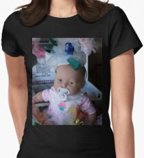 a cutie Women's Fitted T-Shirt