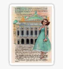 Paris Glamour - Palais Garnier Opera House Sticker