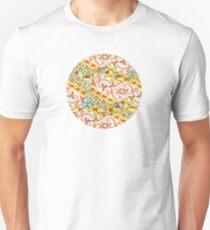 Pink Bonbon Hexagons T-Shirt