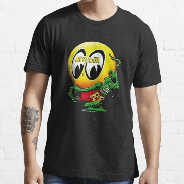 Mooneyes y Rata Camiseta esencial