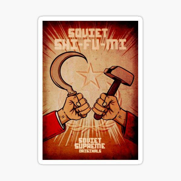 SOVIET SHI-FU-MI Sticker