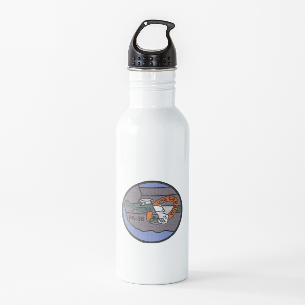 USS CAMBRIA (APA-36) SHIP'S STORE Water Bottle