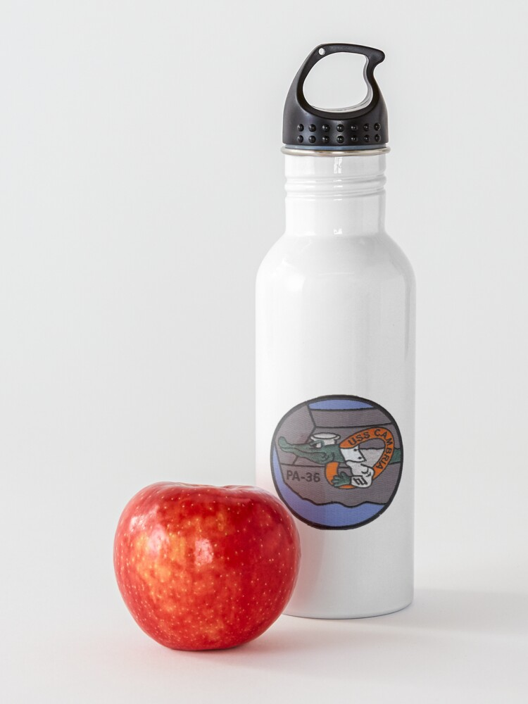 Alternate view of USS CAMBRIA (APA-36) SHIP'S STORE Water Bottle
