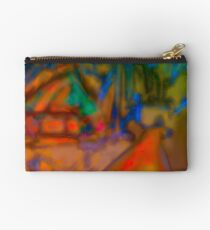 Colorful Abstract Art Laptop Skin Studio Pouch