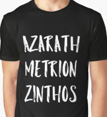 Azarath Metrion Zinthos Grafik T-Shirt