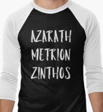 Azarath Metrion Zinthos Baseballshirt für Männer
