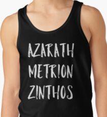 Azarath Metrion Zinthos Tank Top