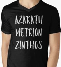 Azarath Metrion Zinthos Men's V-Neck T-Shirt