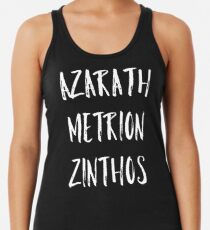 Azarath Metrion Zinthos Women's Tank Top