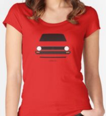 MK1 simple front end design Women's Fitted Scoop T-Shirt
