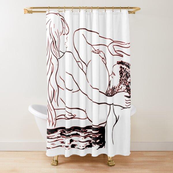 Eat my ass Shower Curtain