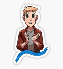 """Eric """"Bitty"""" Bittle - Blog your heart out Sticker"""