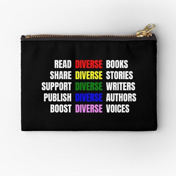 Read Diverse Books Zipper Pouch