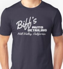 Back To The Future - Biff's Auto Detailing Slim Fit T-Shirt