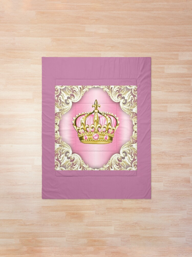 Alternate view of Gold crown Comforter
