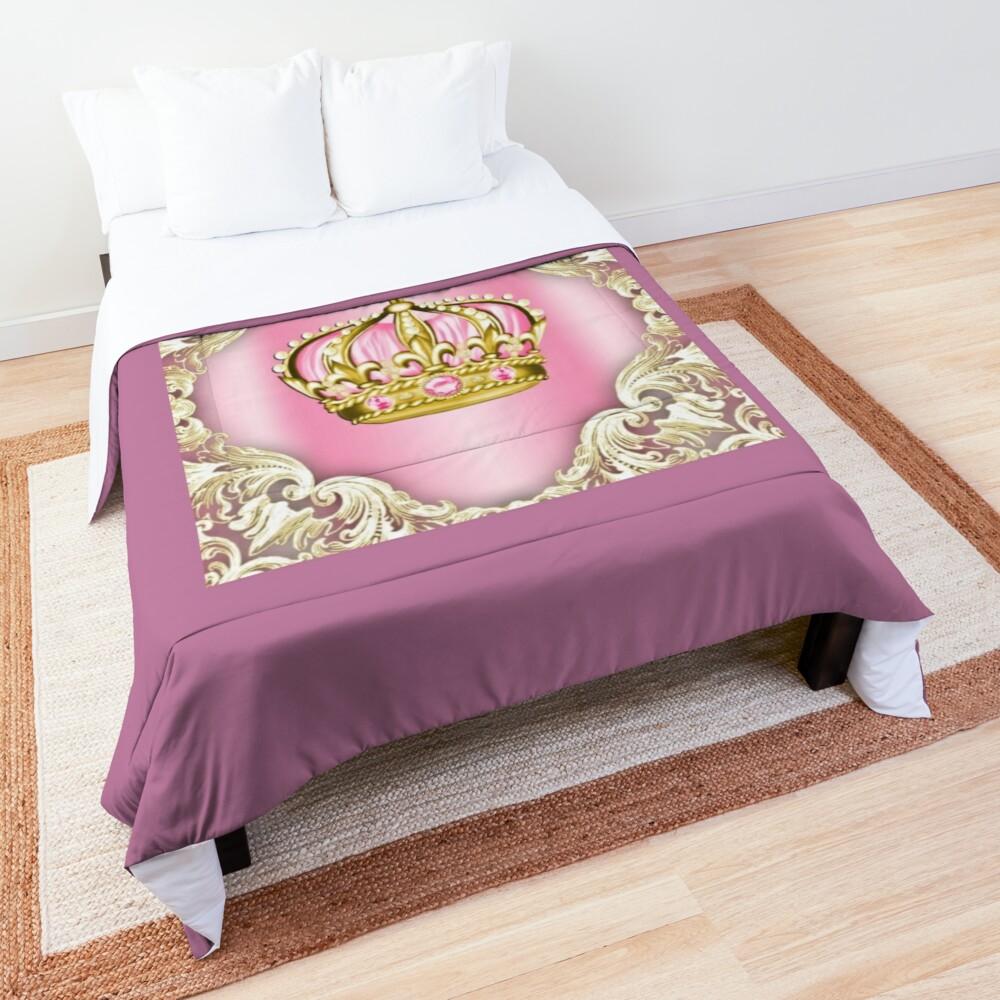 Gold crown Comforter