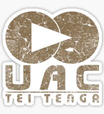 DOOM UAC Vintage Sticker