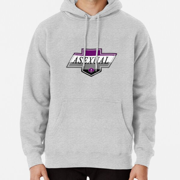 Asexual (Identity Badge) Pullover Hoodie
