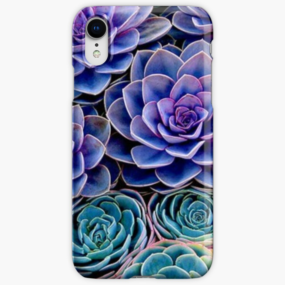 Purple Cacti iPhone Cases & Covers