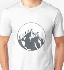 Evolution of Mountain biking | 2 Unisex T-Shirt