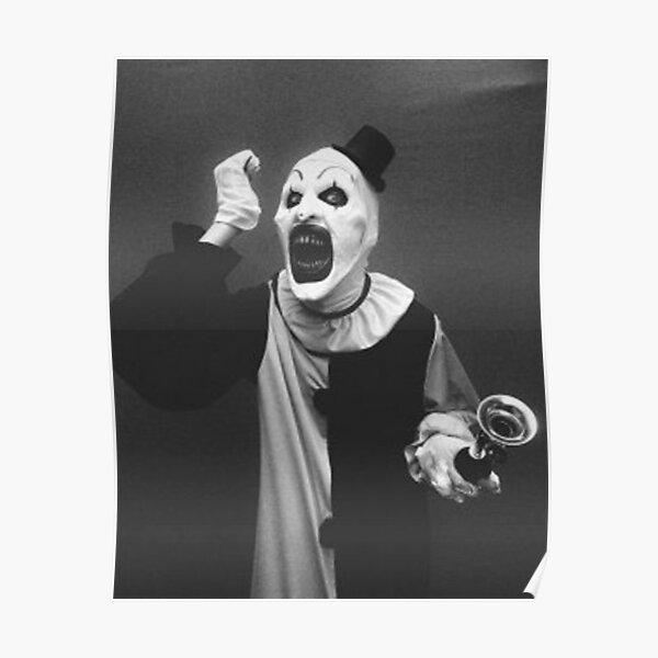 Terrifier art the clown horror  Poster