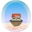 Betty's Bingo Hall by mykowu