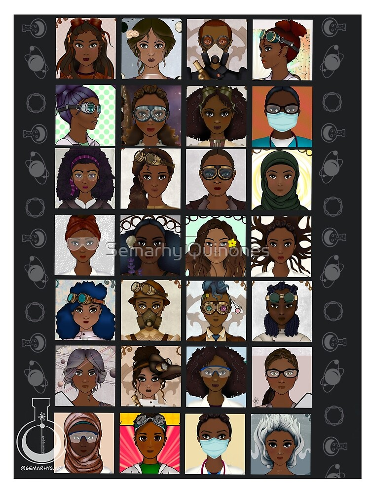 Black Excellence (Black Women in STEM) by semarhy