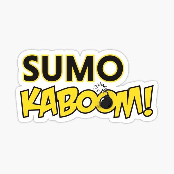 Sumo Kaboom Logo Sticker