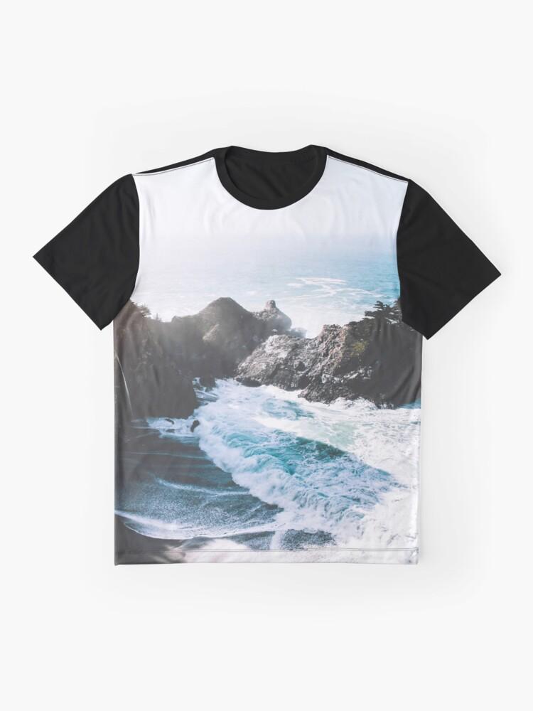 Vista alternativa de Camiseta gráfica En el borde