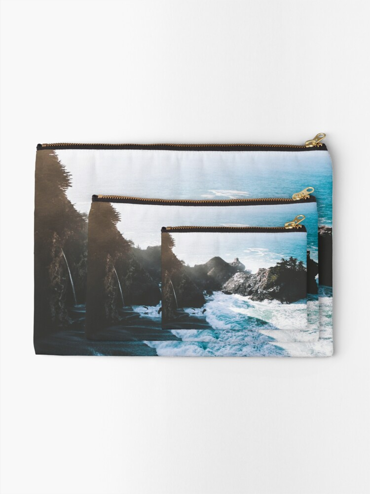 Alternate view of On The Edge Zipper Pouch