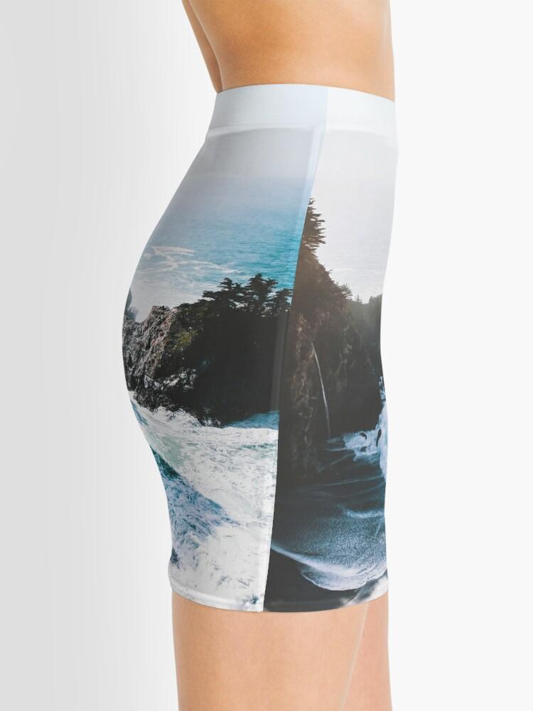 Vista alternativa de Minifalda En el borde