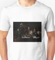 The Supper at Emmaus - Caravaggio Unisex T-Shirt
